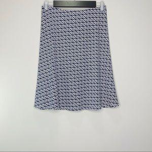 Ann Taylor Diamond Print Casual Skirt